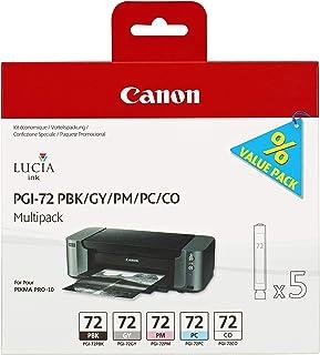 PGI-72 PBK/GY/PM/PC/CO Multipack - Tintenpatrone