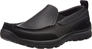 Skechers Men's Relaxed Fit Memory Foam Superior Gains Slip-On