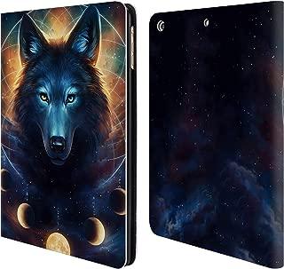 Official Jonas JoJoesArt Jödicke Dreamcatcher Wolf Wildlife 2 Leather Book Wallet Case Cover Compatible for iPad Air (2013)