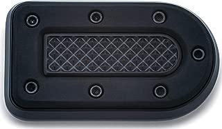 Kuryakyn 7038 Motorcycle Foot Control: Heavy Industry Brake Pedal Pad for 1984-2019 Harley-Davidson FX & XG Motorcycles, Satin Black