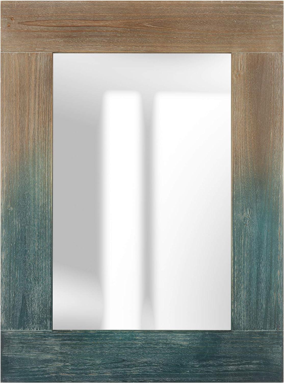 Pinnacle Frames & Accents Nantucket Distressed Wood Coastal Blue, 23