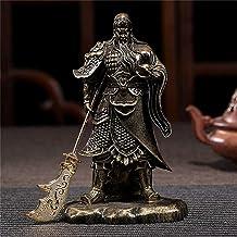 Rijkdom Lucky Standbeeld Chinese Feng Shui Guan Gong Boeddhabeeld Brons Kleur Handgemaakte Hars Ambachten Grote Boeddha Sc...