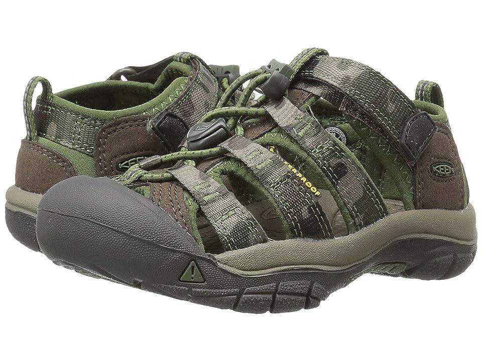 Keen Kids Newport H2 (Toddler/Little Kid) (Cascade Brown/Kamo) Boys Shoes