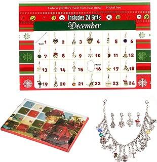 Countdown to Christmas Advent Calendar Fashion Jewelry Set Advent Calendars for Girls