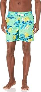 شورت سباحة رجالي من Kanu Surf عليه رسمة ريفيرا ، أخضر، مقاس كبير