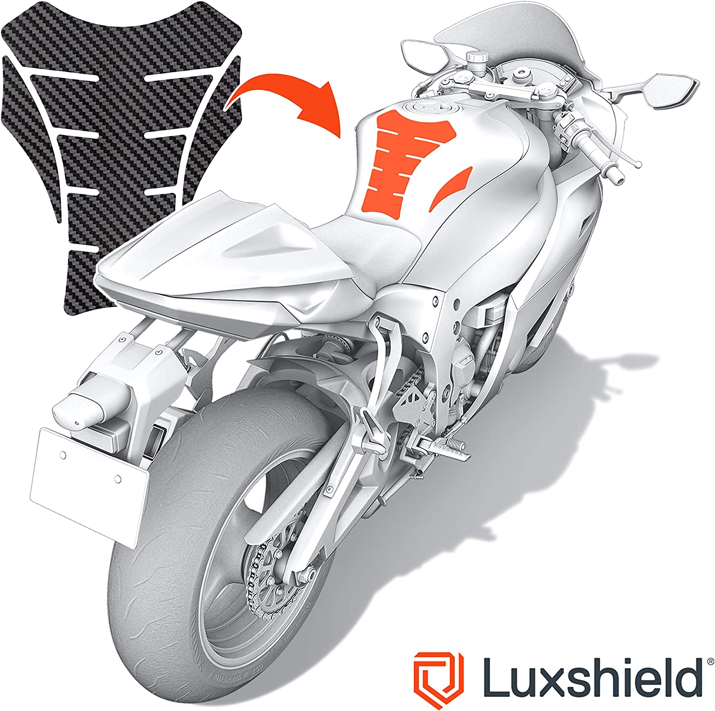 Luxshield Motorrad Tankpad Lackschutzfolie Kratzschutz für Tank ...