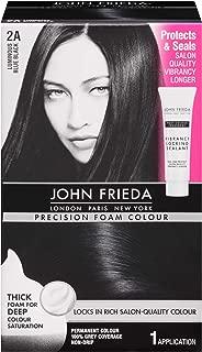 John Frieda Precision Foam Colour Permanent Hair Colour Kit Luminous Blue Black [2A] 1 Each (Pack of 2)