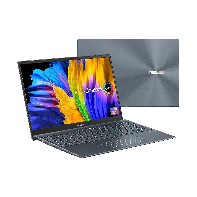 "ASUS ZenBook 13 Ultra-Slim Laptop, 13.3"" OLED FHD NanoEdge Bezel Display, Intel Core i7-1165G7, 8GB LPDDR4X RAM, 512GB SSD, NumberPad"