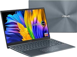 ASUS ZenBook 13 ウルトラスリム ノートパソコン 13.3インチ OLED FHD NanoEdge ベゼルディスプレイ Intel Core i7-1165G7 16GB LPDDR4X RAM 512GB SSD ナンバーパッ...