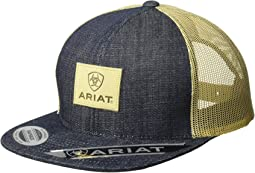 Ariat Logo Patch Snapback Cap