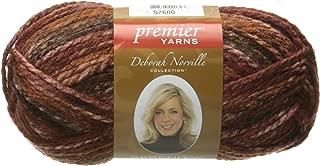 Deborah Norville Serenity Chunky Yarn, Chocolate, 3 Pack