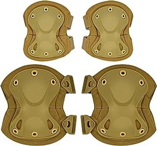 ArcEnCielタクティカルCombat膝&肘保護用パッドガードセット