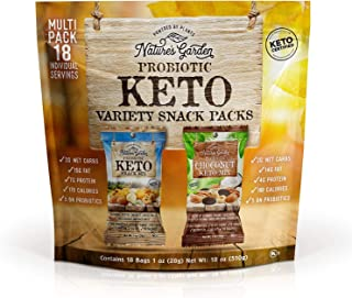 Nature's Garden Keto Variety Snack Packs - All Natural & Fresh Flavor - Heart-Healthy Delicious - Premium Quality - Best H...
