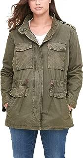 plus size army camo jacket
