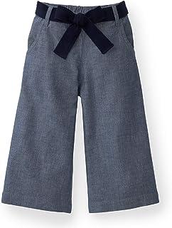 XiaoTianXinBaby XTX Girls Fleece Elastic Waist Basic Denim Faux Fur Lined Thicken Jogger Pants