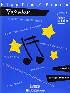 PlayTime  Piano Popular: Level 1