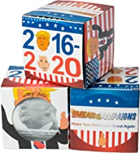 Smear Campaigns Donald Trump Toilet Paper Roll with 4 Real Trump Quotes with Colorful Funny Display Box - The Most Hilarious Political Gag Gift (1 Roll)
