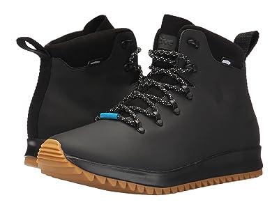 Native Shoes AP Apex CT (Jiffy Black CT/Jiffy Black/Natural Rubber) Shoes