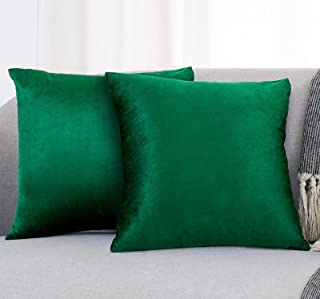 Pillow Covers Pillowcases Soft Decorative Square Throw Pillow Covers Set Pack of 2 Cushion Case 18 x 18 Inch 45 x 45 cm It...