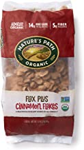 Nature's Path Flax Plus Cinnamon Flakes Cereal, Healthy, Organic, Gluten-Free, 32 Ounce (Pack of 6)