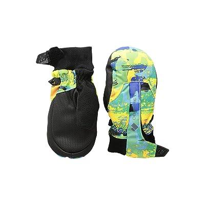 Obermeyer Kids Thumbs Up Mitten Print (Little Kids/Big Kids) (Land/Sea Camo) Extreme Cold Weather Gloves