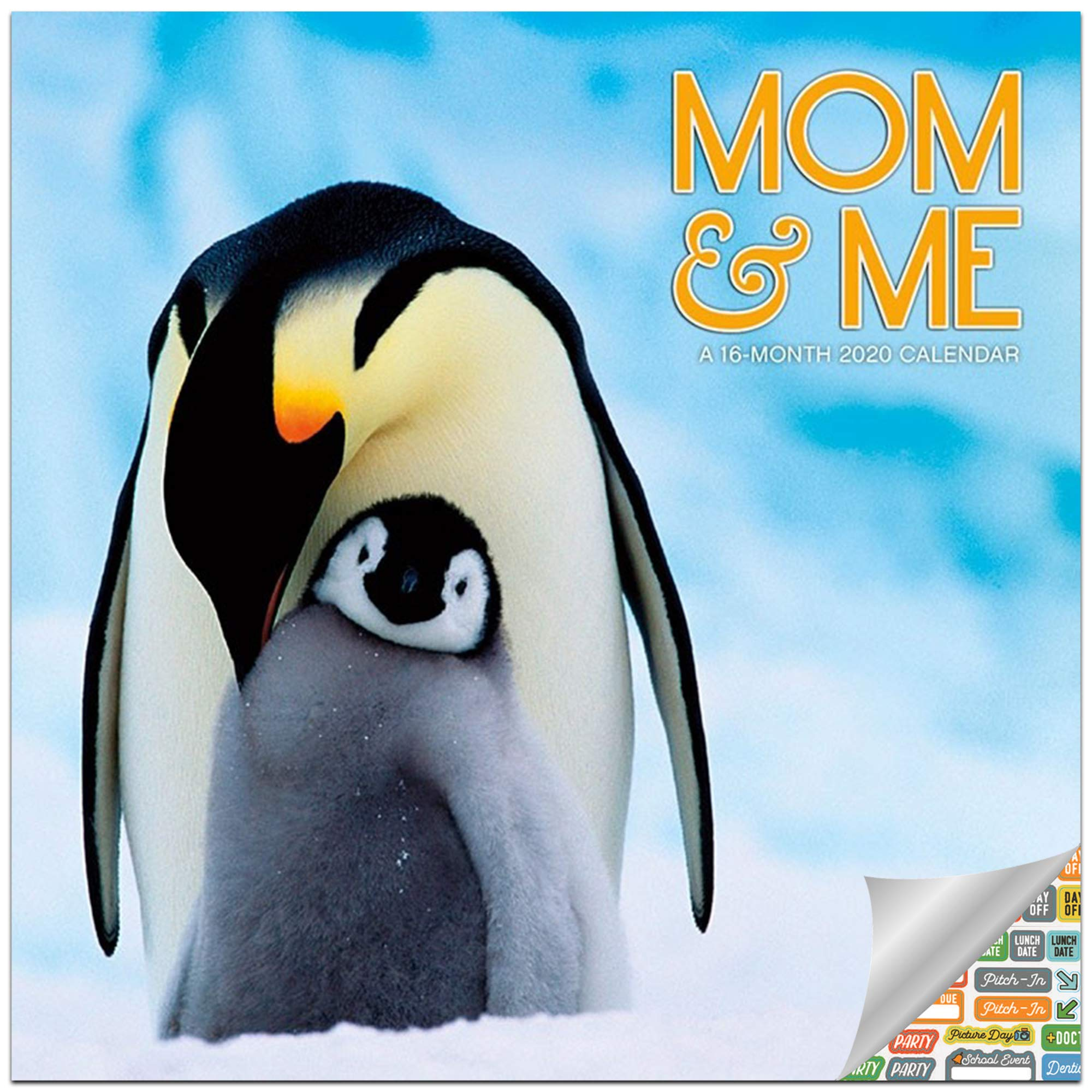 Mom Me Calendar 2020 Set Deluxe 2020 Baby Animals Wall Calendar With Over 100 Calendar Stickers Animal Babies And Mothers Gifts Office Supplies Buy Online At Best Price In Uae Amazon Ae