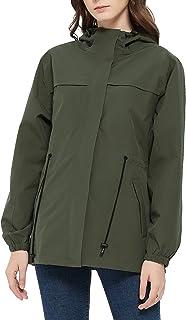 [アオキ アウトドア ] マウンテンパーカー レディース ゴルフ レインウェア ウインドブレーカー ジャケット レインコート 防水 軽量 通気 防風