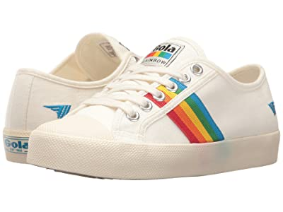 Gola Coaster Rainbow (Off-White/Multi) Women