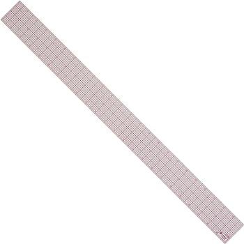 "Westcott 8ths Graph Ruler, 2 x 24"", Transparent (W-248)"