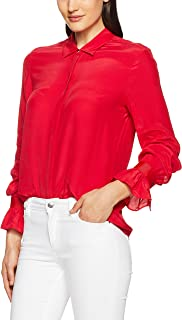 TOMMY HILFIGER Women's Haren Blouse with Fashion Cuff Detail