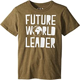 Chaser Kids - Vintage Jersey Future World Leader Tee (Little Kids/Big Kids)