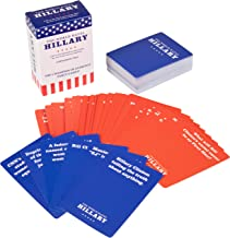 SCS Direct The World Hates Hillary Clinton, Too Card Game - Expansion or Stand Alone to The World Hates Trump (80 Blue Cards, 30 Red Cards)