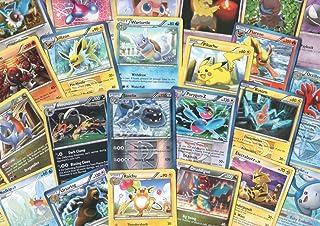 Pokemon 100 Assorted Cards with Foils & Bonus Promo Card!