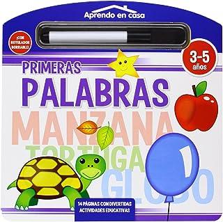 PRIMERAS PALABRAS LIBRO PIZARRA (APRENDO EN CASA