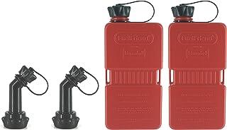 FuelFriend®-Plus - Bidón 1.5 litros + caño bloqueable - 2 Piezas a un Precio Especial