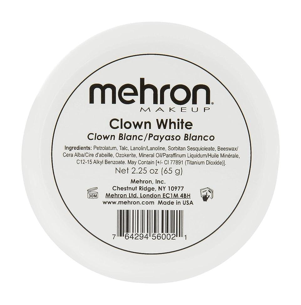Mehron Makeup Clown White Professional Makeup (2.25 oz) rtzopwaa042