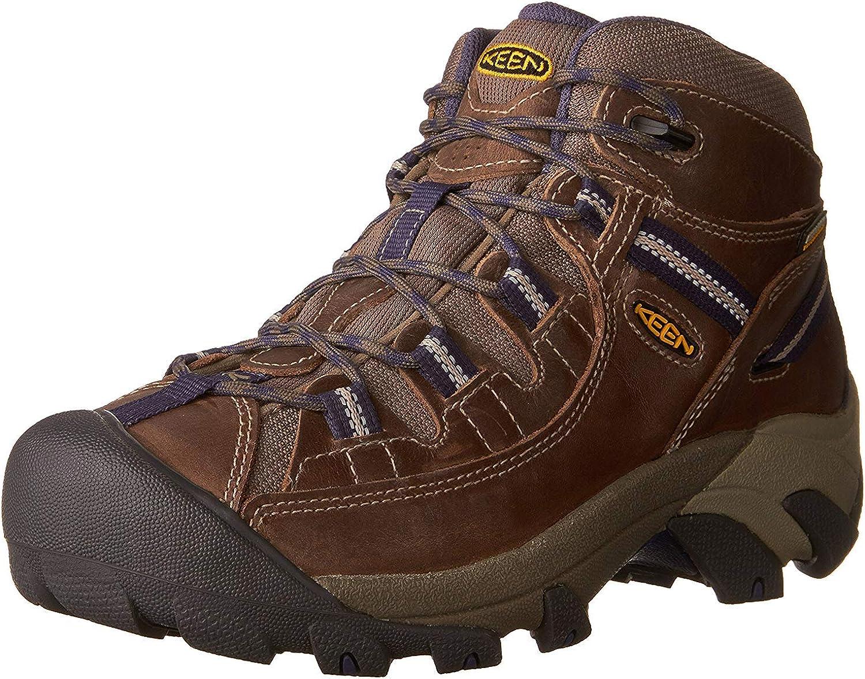   KEEN Women's TARGHEE II MID Waterproof Hiking Boot   Hiking Boots