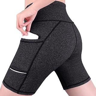 GRAT.UNIC Damen Kurz Fitness Damen Shorts Kurze Yogahose Kurze Sporthose Damen Dünne Hosen Schnell Trocknende Trainieren S...