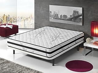 "Living Sofa COLCHÃ""N VISCOELASTICO GRAFENO Terapia Carbon Anti Stress 135 x 190 (Todas Las Medidas)"