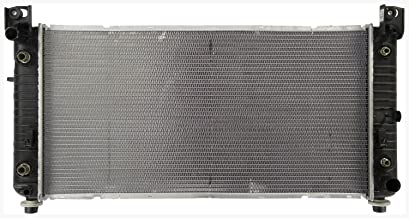 Radiator - Fits 2012-2007 GMC Yukon XL 1500 (6.2L V8 6162cc 376 CID; Denali; With 34 inch Core, With Engine Oil Cooler And Transmission Oil Cooler)