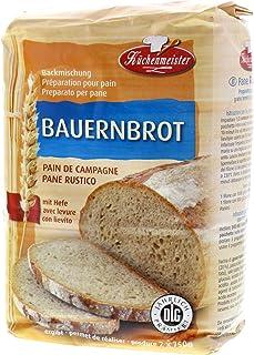1kg Küchenmeister BAUERNBROT Backmischung