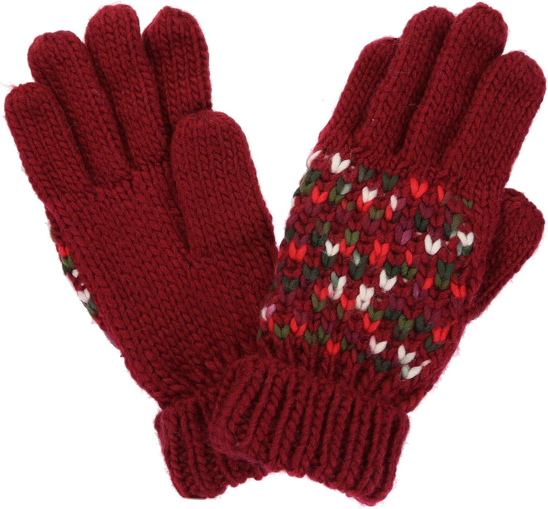 Regatta Womens Frosty Iii Acrylic Knit Gloves