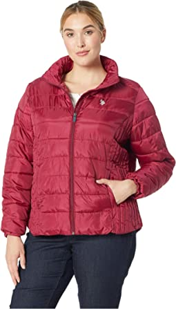 Plus Size Puffer Jacket