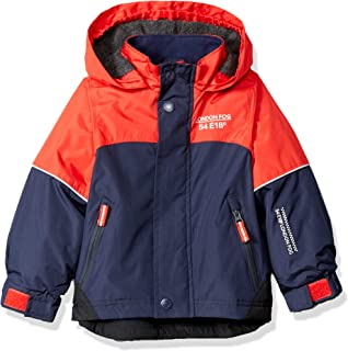 Boys' Midweight Water Resistant Hooded Jacket