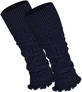 Piarini 1 Paar Bein Stulpen Damen - warme Beinstulpen Strick - One-Size