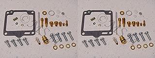 DP 0101-118 Carburetor Rebuild Repair Parts Kit (Set of 2) Compatible with Yamaha 88-99 XV1100 Virago 1100, 96-98 XV1100S Virago 1100 Special