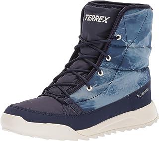 Women's Terrex Choleah Padded CP Walking Shoe, Noble Ink/Chalk White/Scarlet, 8.5 M US