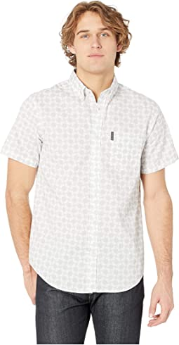 Mod Geo Print Short Sleeve Shirt