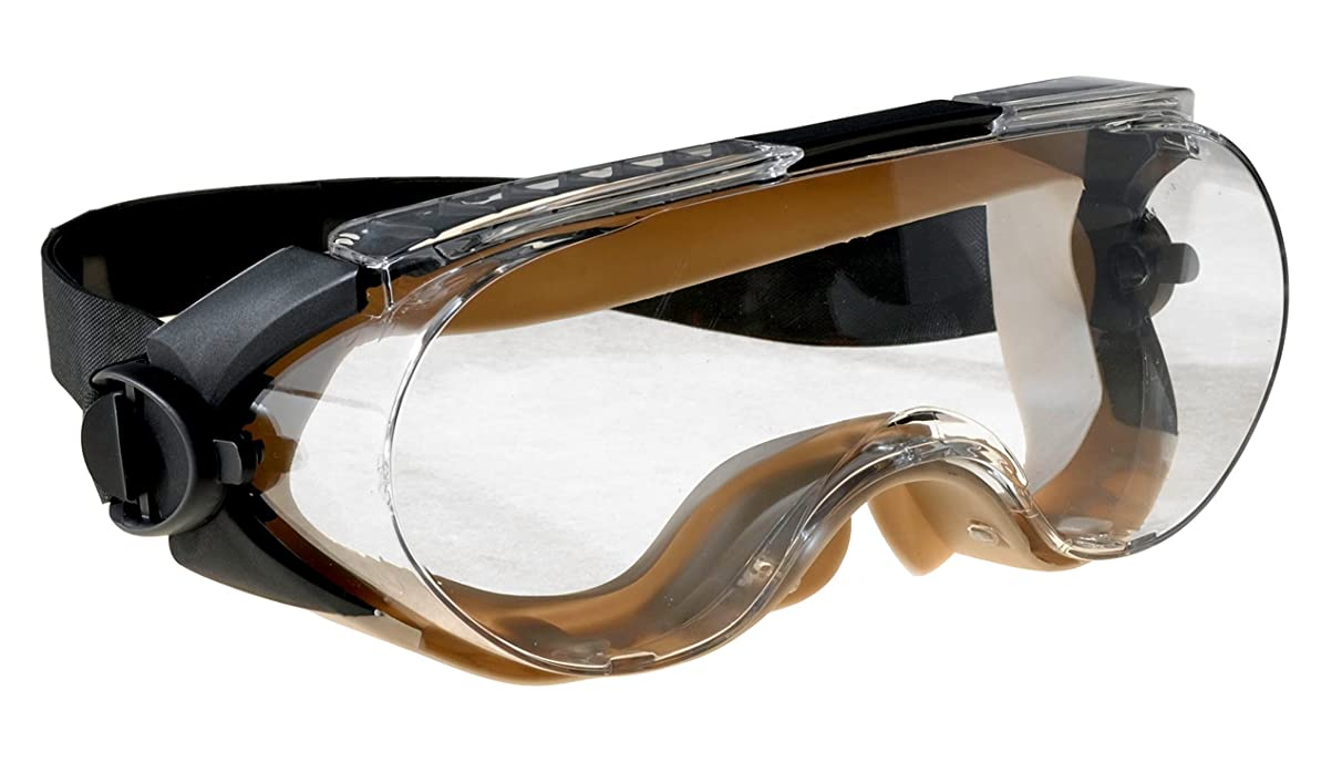 3M Maxim Safety Splash Goggle, 40671-00000-10 Over-the-Glass, Clear Anti-Fog Lens  (Pack of 1)