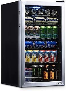 NewAir AB-1200 Beverage Fridge, 126 Can, Silver, 126 Can
